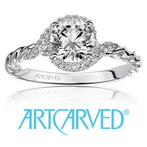 ArtCarved Engagement Rings available at D. Geller & Son Jewelers