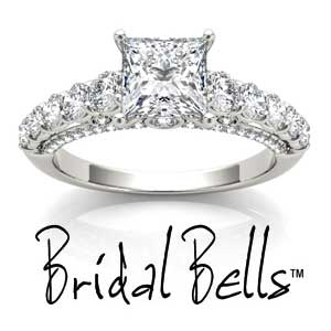 Bridal Bells Engagement Rings available at D. Geller & Son Jewelers