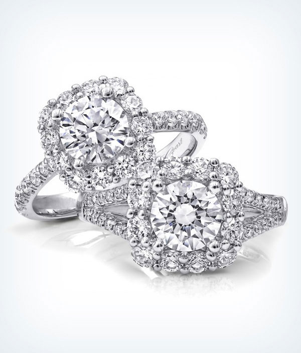Shop Tacori Diamond Engagement Rings at D. Geller Jewelers in Atlanta, Georgia