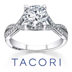 Tacori Engagement Rings available at D. Geller & Son Jewelers