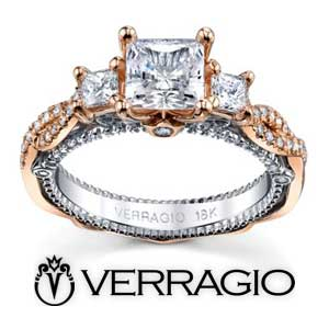 Verragio Engagement Rings available at D. Geller & Son Jewelers
